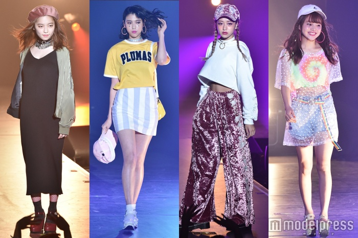 Girls Summer Festival Runway Heats Up A-Nation!