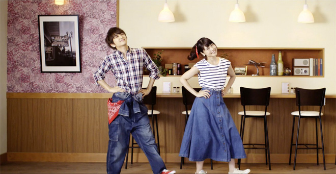 "Nissy (AAA) invites Kasumi Arimura for a dance in ""Mada Kimi wa Shiranai MY PRETTIEST GIRL"" MV"