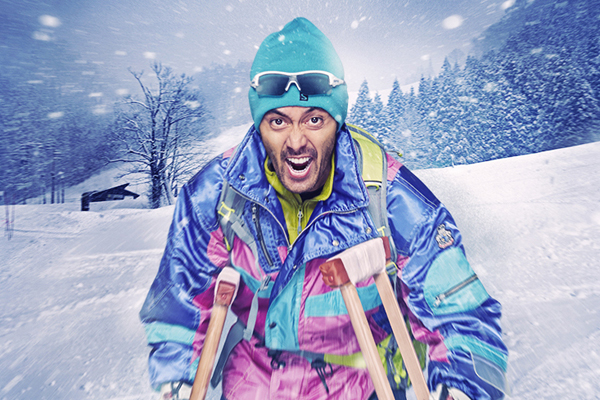 "Admire Hiroshi Abe's ""impressive"" ski moves in the ""Shippu Rondo"" trailer"