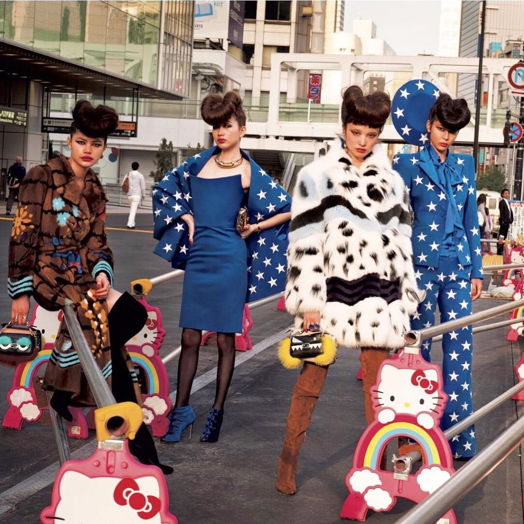 VOGUE Japan Takes the Party to the Streets and Beyond