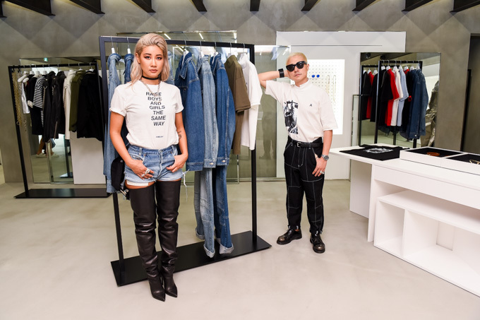 Verbal and Yoon Open AMBUSH® WORKSHOP Store in Tokyo