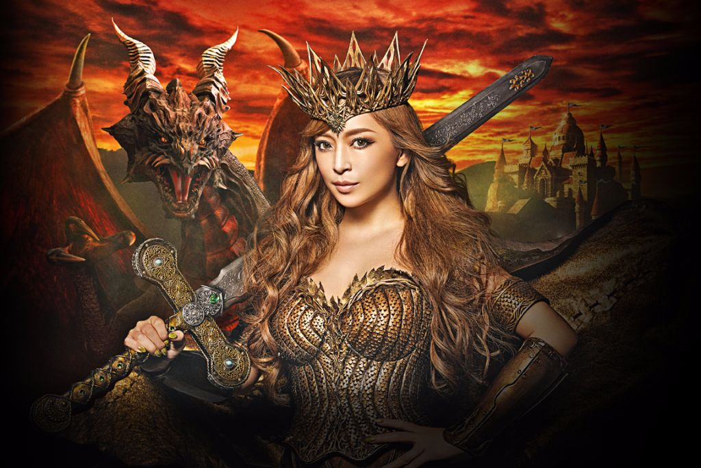 "Ayumi Hamasaki Assumes Rightful Role as Queen in new CMs; new song ""We are the QUEENS"""