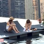 Photo of Hey! Say! JUMP's Inoo Kei and AV actress Asuka Kirara in Singapore surface