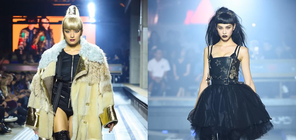 Rola and Kiko Mizuhara walk DIESEL's 30th Japanese Anniversary F/W 2016 show