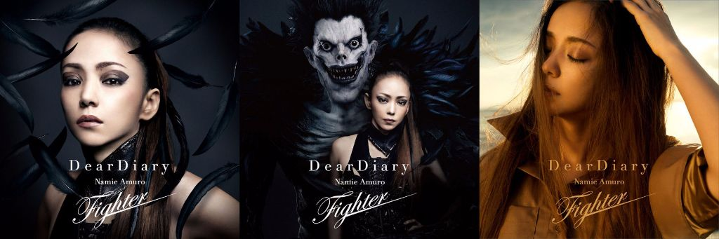"""Namie Amuro Serves Face on Covers for New Single """"Dear Diary/Fighter"""""""