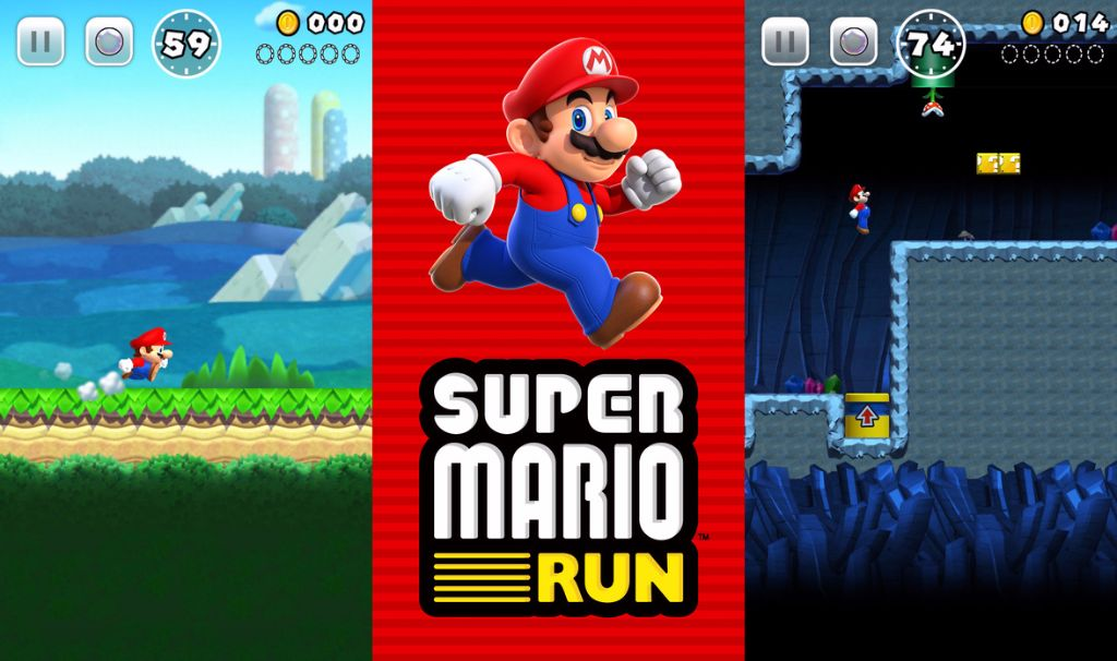 Nintendo Announces Super Mario Run for Mobile Devices. Pushes Back Other Titles