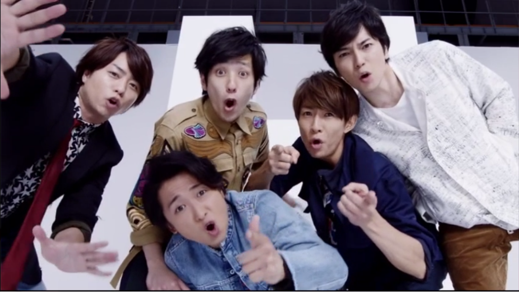 "Arashi are hopeless dorks in ""Don't You Get It?"" PV"