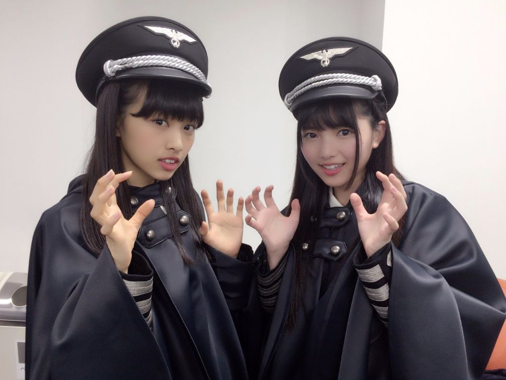 Keyakizaka46 causes outrage by dressing in NAZI-style outfits