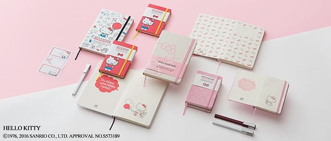 Get Your Pencils Ready! Hello Kitty and Moleskin Announce 2nd Collaboration