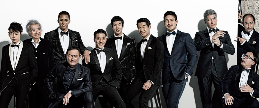 """GQ Japan Release Their Picks for 2016's """"Men of the Year"""""""