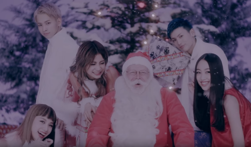 Co-ed group 'lol' releases new Christmas song 'xmas kiss'