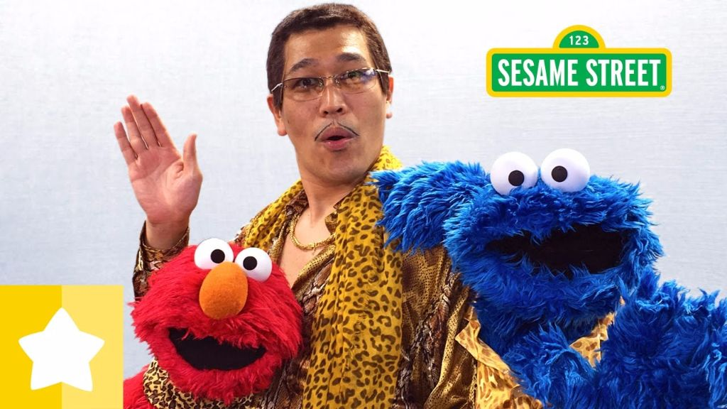 Piko-Taro Makes His Way to Sesame Street