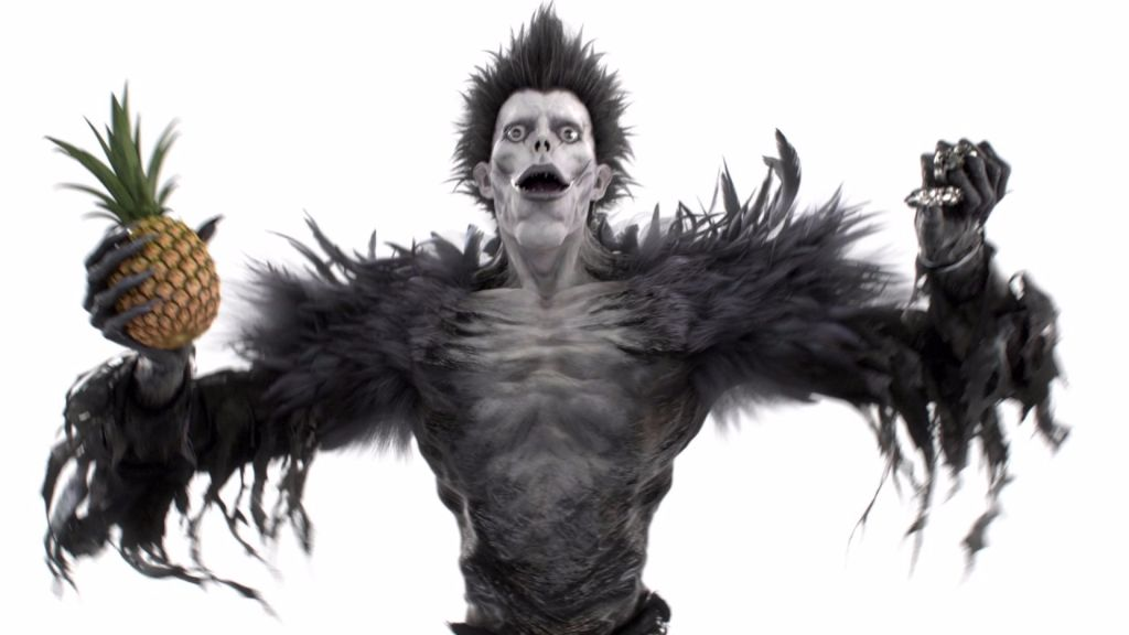 Have you ever wanted to see Death Note's Ryuk dance to Pen-Pineapple-Apple-Pen?