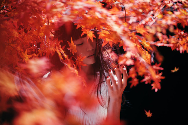 "Aimer Captures Autumn and Winter in ""Akane Sasu / everlasting snow"""