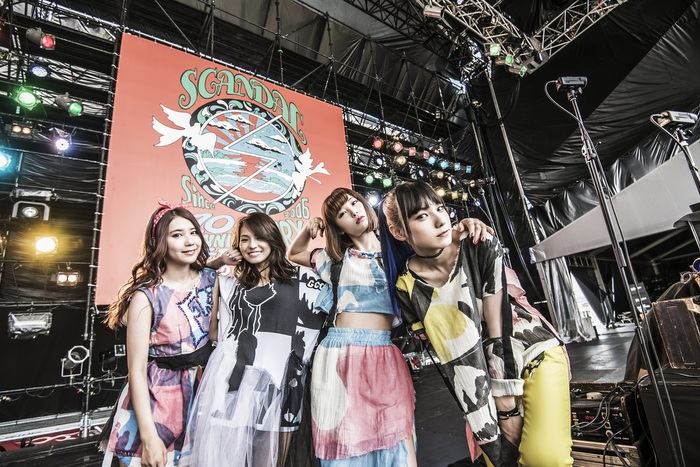 SCANDAL to celebrate their 10th Anniversary with a 2 CD best of album and a 47 prefecture LIVE house tour