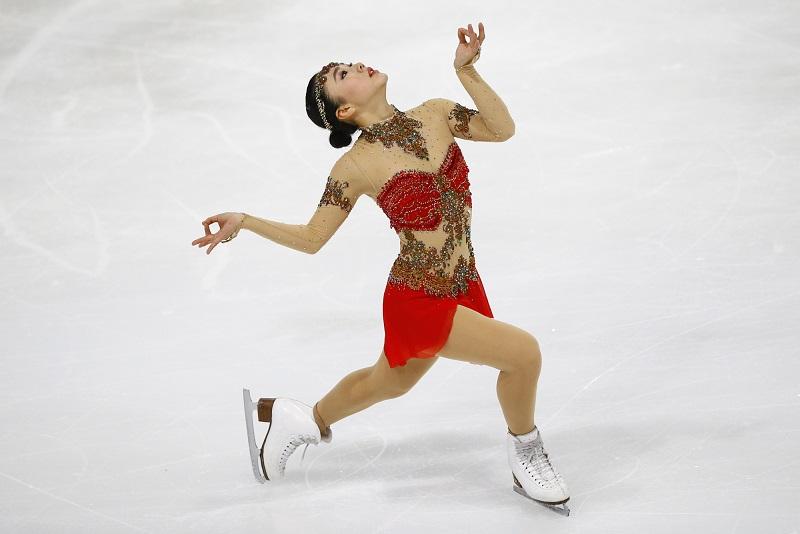 Wakaba Higuchi Places 3rd at Trophee de France
