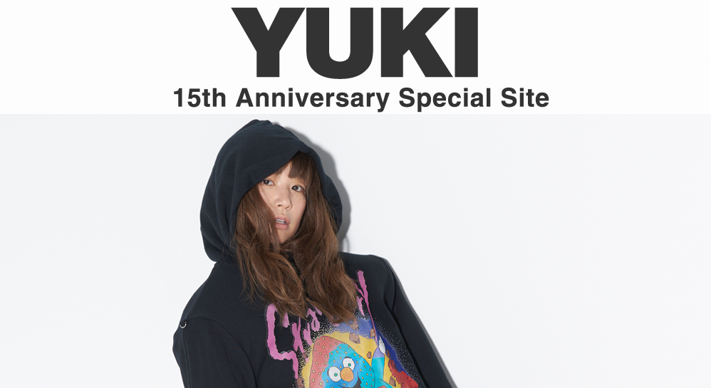 YUKI Celebrates 15th Anniversary with New Album and Concert Tour