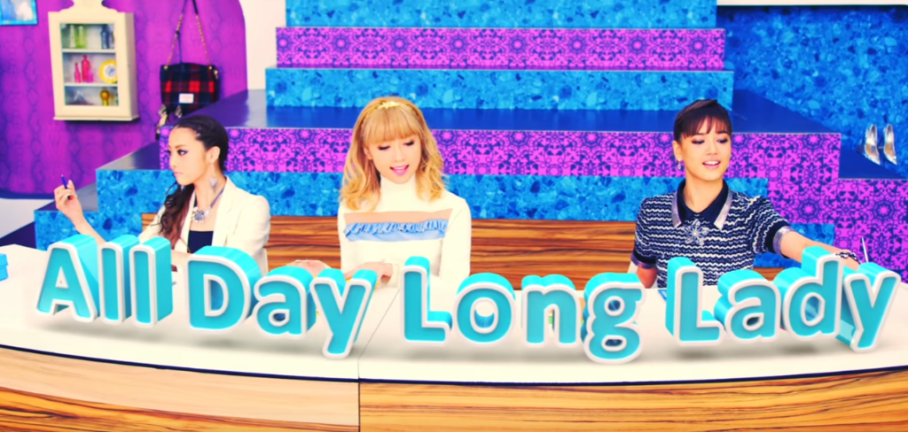 "E-Girls release colorful new PV for ""All Day Long Lady"""
