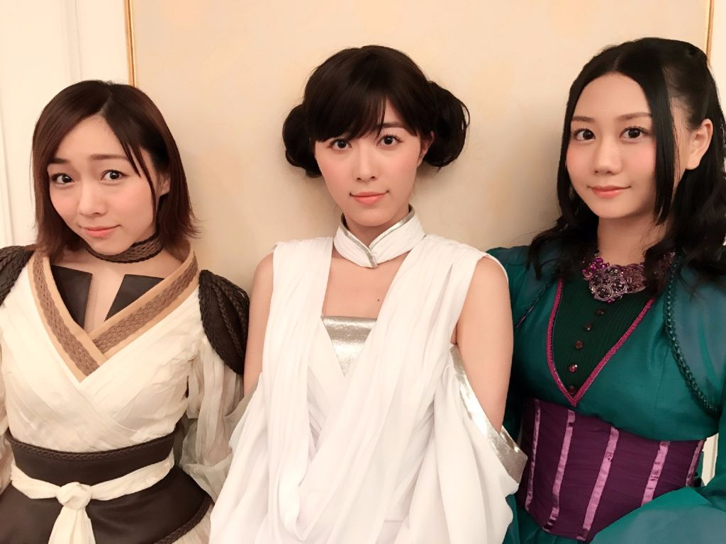 Matsui Jurina serves as Princess Leia to promote upcoming Star Wars Exhibition