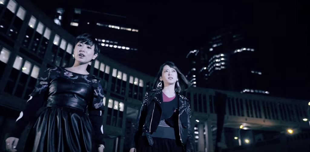 "Take a night walk in Tokyo with Charisma.com in ""#hashdark"" MV"