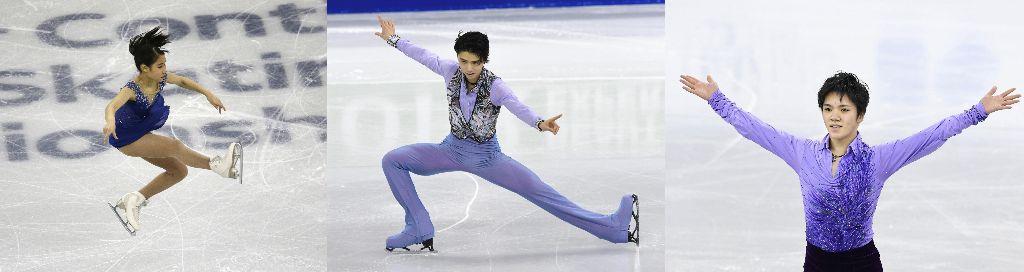 Mai Mihara Wins Four Continents Championships, Yuzuru Hanyu Places 2nd, Shoma Uno 3rd