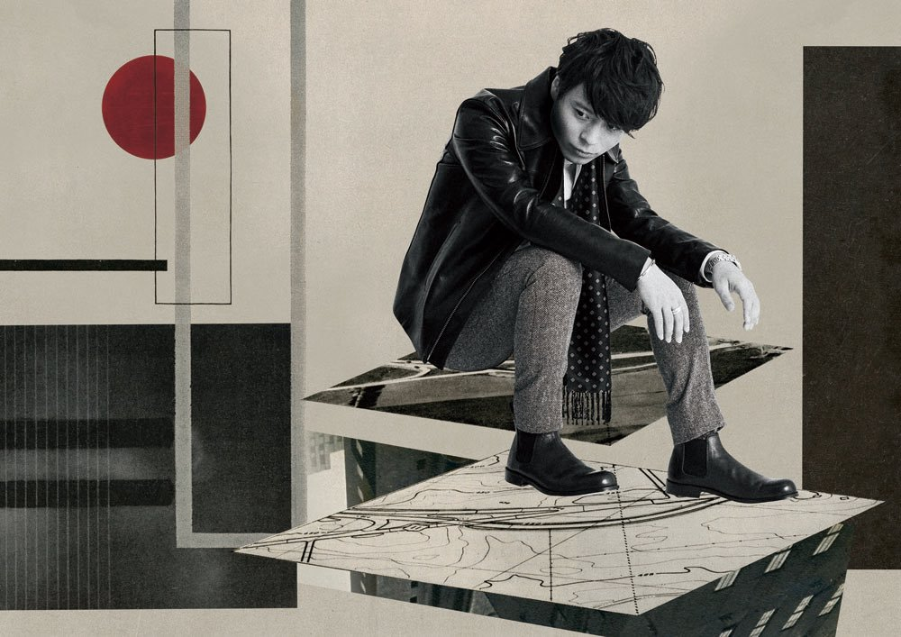 "Yuji Nakada to release his latest Studio Album ""thickness"" in March"