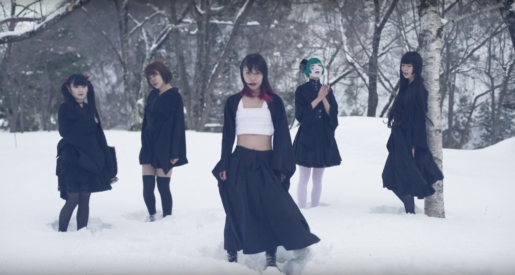 NECRONOMIDOL brings you at the heart of winter in