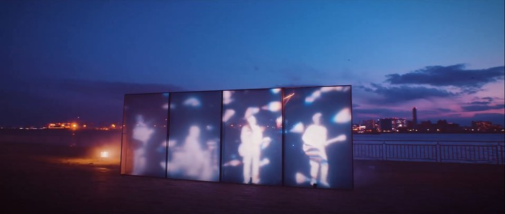 """androp mix light and shadow in their short PV for """"Prism"""""""