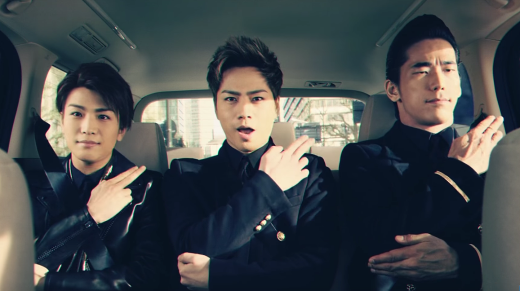 Half of Sandaime J Soul Brothers star in a new Pocky CM