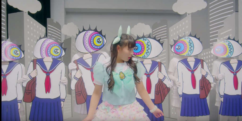Watch Tacoyaki Rainbow's artsy MV for RAINBOW~Watashi wa Watashi Yanen Kara~