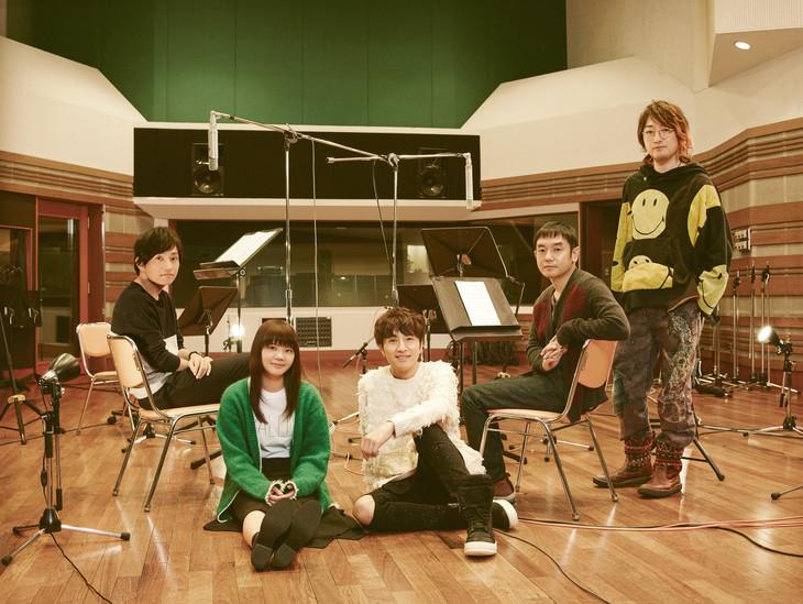 """Yuzu collaborate with Ikimonogakari for their remake of """"Irotoridori"""""""