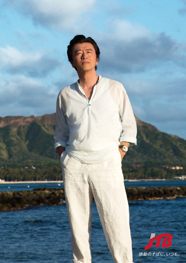 Keisuke Kuwata's new song to be used as the CM track for travel company JTB
