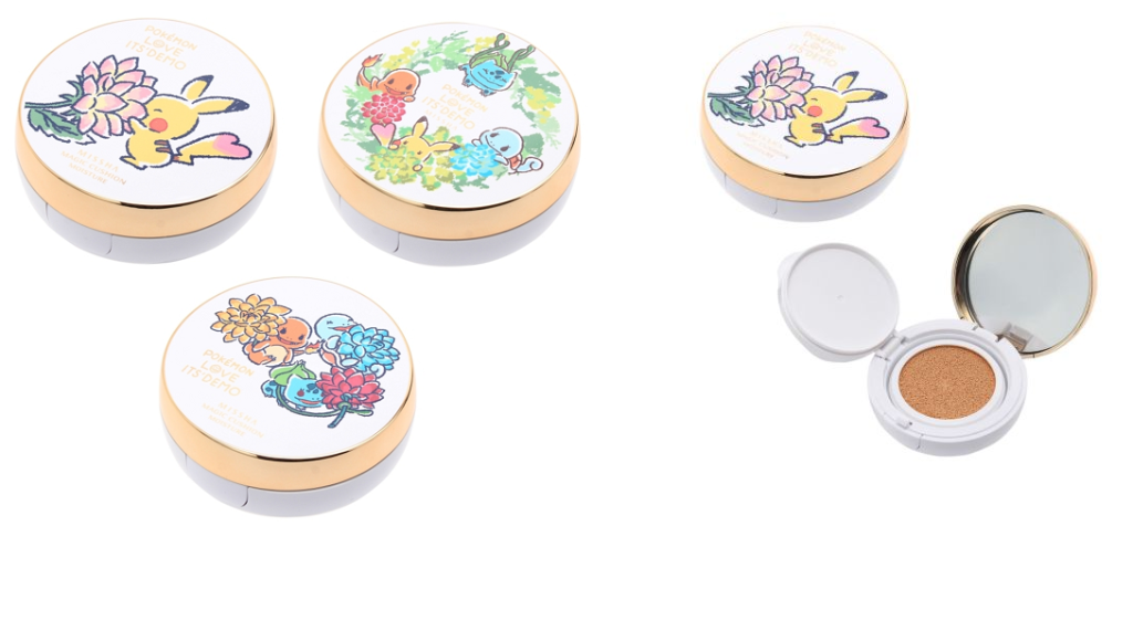 Its'Demo releases adorable Pokemon themed cosmetics line
