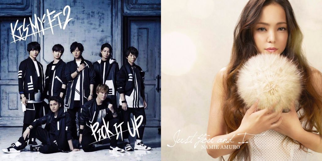 #1 Song Review: Week of 6/7 – 6/13 (Kis-My-Ft2 v. Namie Amuro)