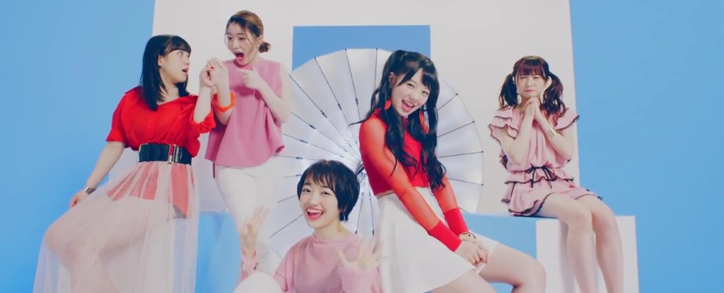 "Fairies serve visuals in PV for new single ""Koi no Roadshow"""