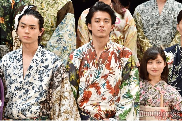 Live-action Gintama Cast Wear Yukata for Film Premiere