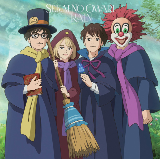 "SEKAI NO OWARI ""RAIN"" To Be Used as Theme for ""Mary and The Witch's Flower"""