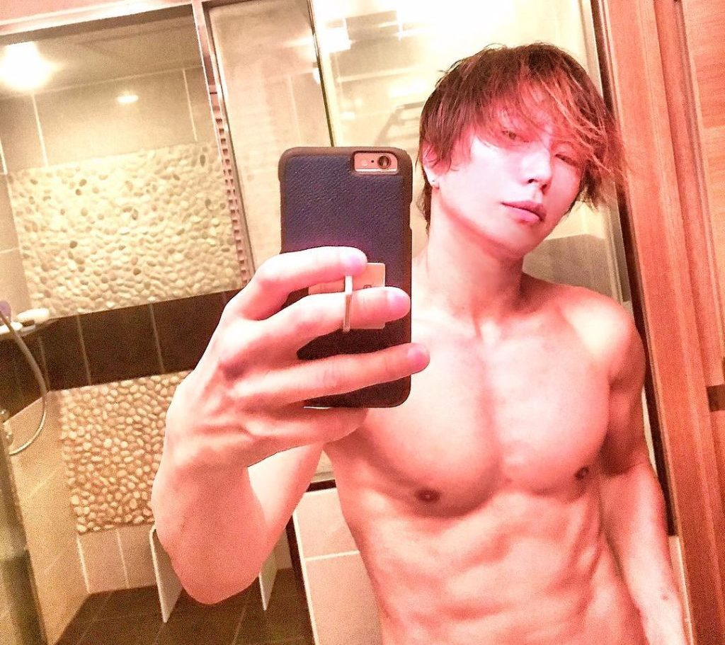 Gackt Shares Shirtless 44th Birthday Selfie