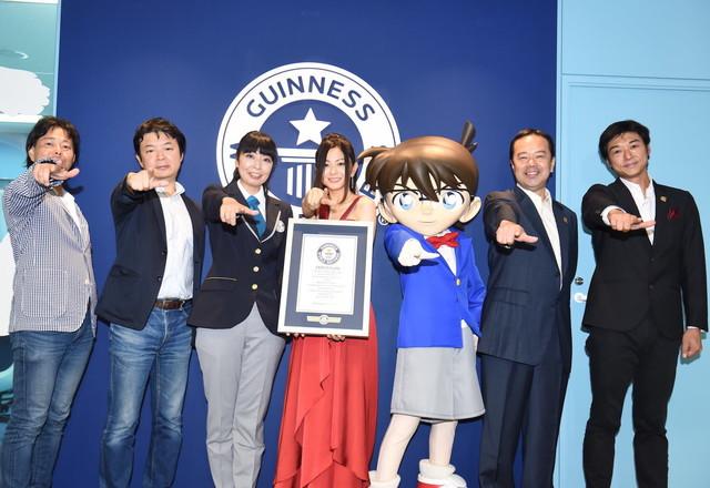 "Mai Kuraki Awarded Guinness World Record for 21 Musical Contributions to ""Case Closed"""