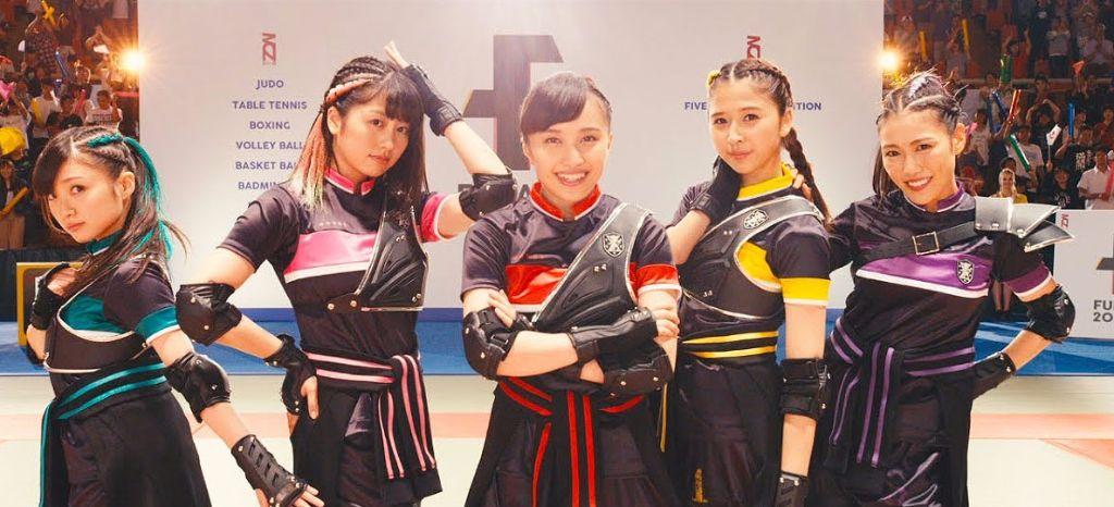 """Momoiro Clover Z Become Athletes for """"BLAST!"""" MV"""