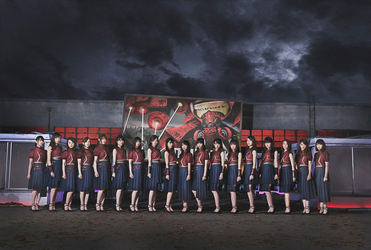 "Nogizaka46 Reveal Collaborative Music Video for ""Wonder Woman"" Film"