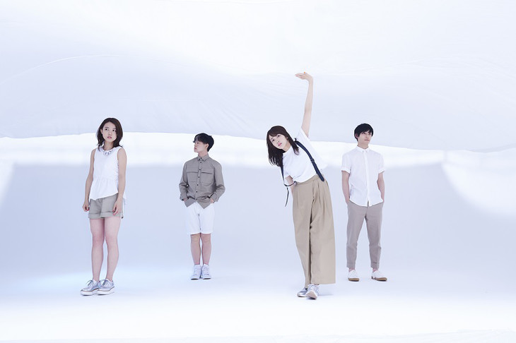 "Ryokuoushoku Shakai sing their hearts out in PV for ""Hajimari no Uta"""
