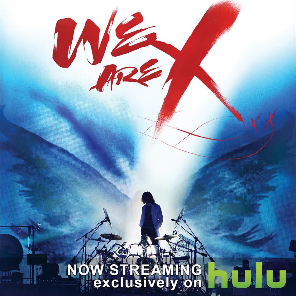 "Anime Hulu 2019: Award-Winning X Japan Documentary ""We Are X"" Now Streaming"