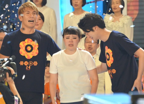 """24-Hour TV 40"" peaks at 40.5%, Buruzon Chiemi finishes 90km marathon run"