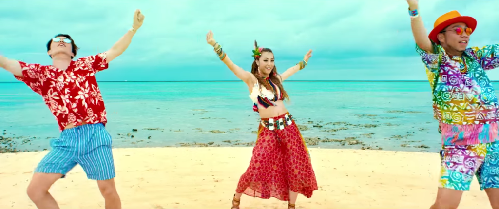 "DANCE EARTH PARTY go on vacation in the ""WAVE"" MV"