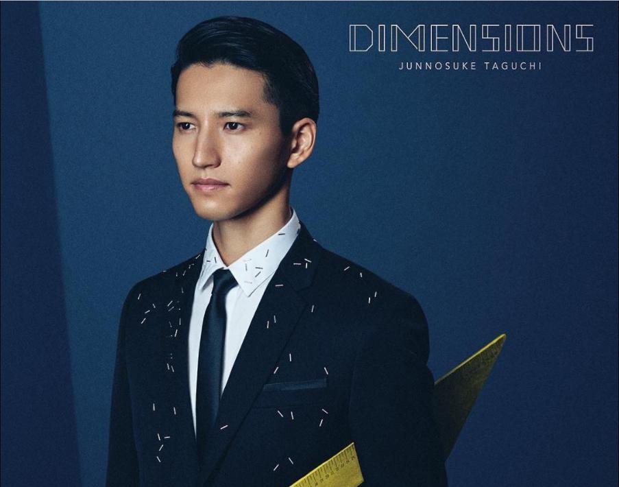 """Visuals for Junnosuke Taguchi's solo debut album """"DIMENSIONS"""""""
