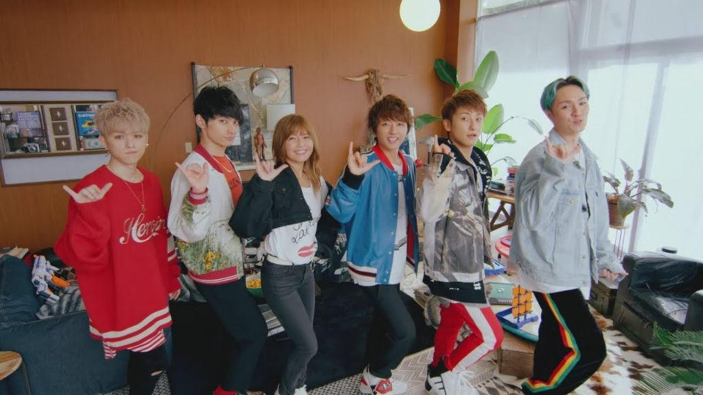 "AAA invites you to do the ""L dance"" in LIFE Music Video"