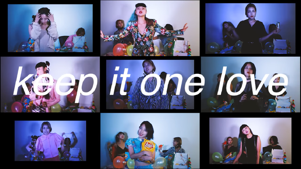 "color-code has a chill private party in ""keep it one love"" MV"