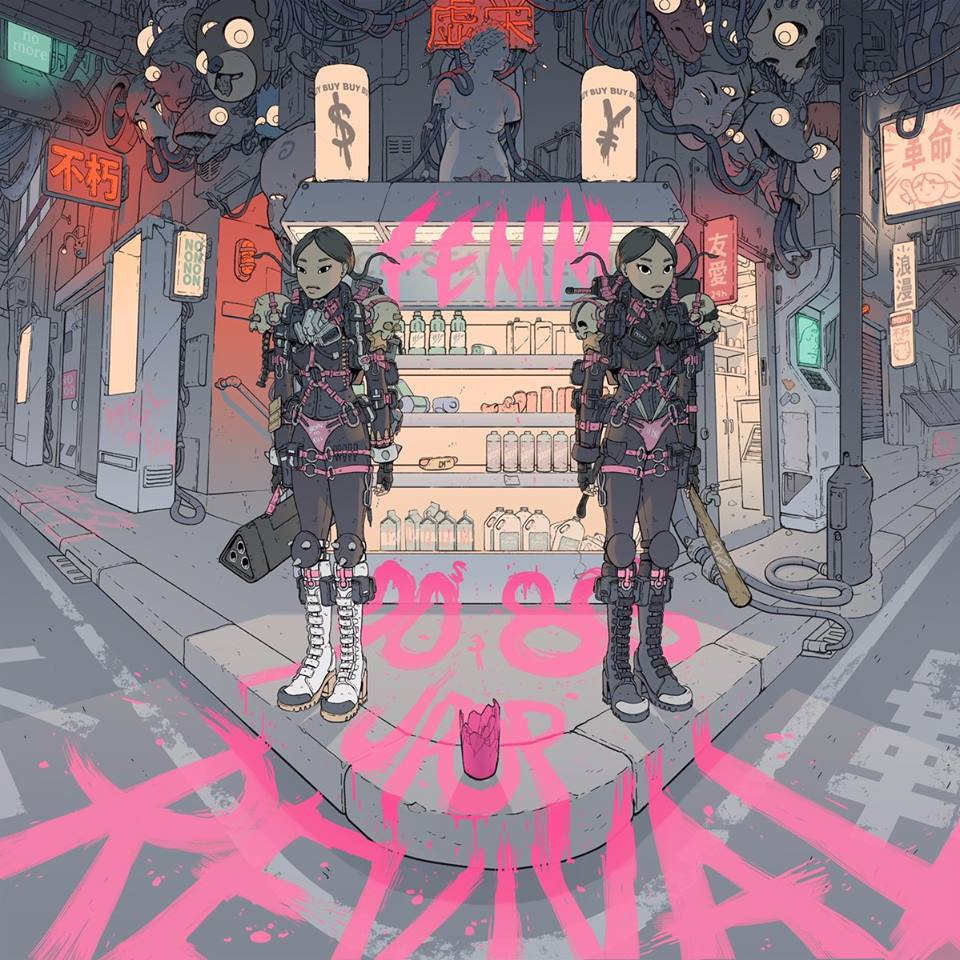 "FEMM announces NEW album ""80s/90s J-POP REVIVAL"" and releases new Single"