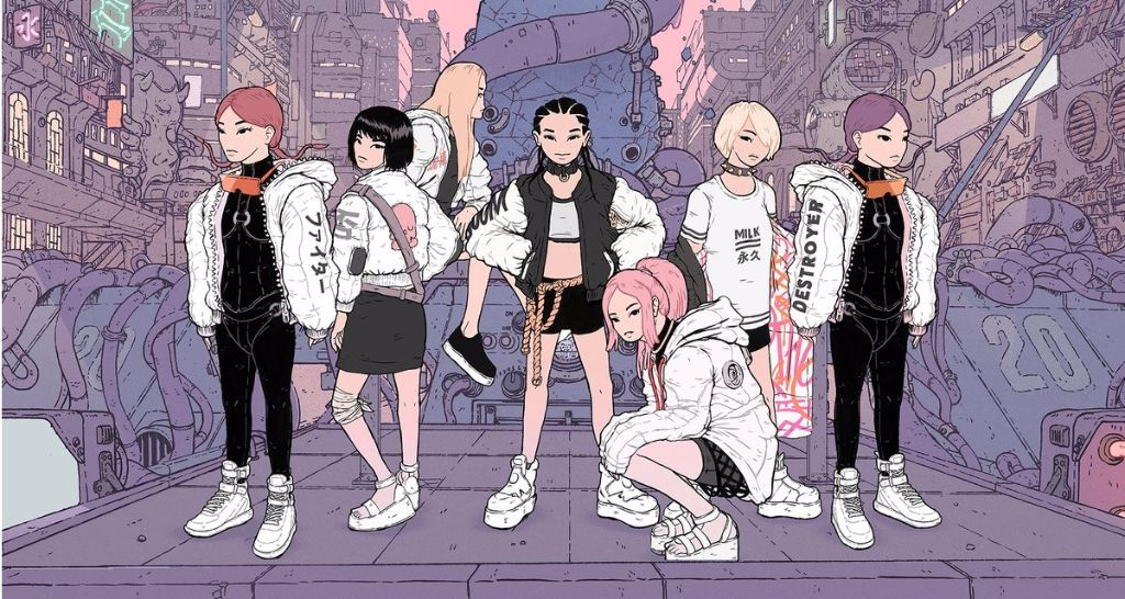 """FEMM covers 80s-90s J-Pop hits in new single """"My Revolution / Konya wa Boogie Back"""" featuring the FAMM'IN crew"""
